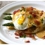 Eggs Benedict with BBQ Hollandaise