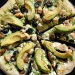 Grecian Avo Pizza