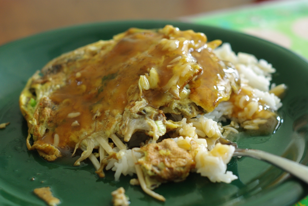 Eating Down the Fridge: Egg Foo Young