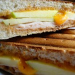 Turkey Apple BBQ Panini