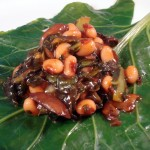 BBQ Black-eyed Pea-Collard Rolls