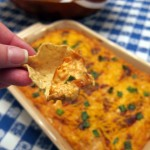 BBQ Cream Cheese Chicken Dip