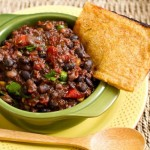 Smokey Black Eyed Pea BBQ Chili