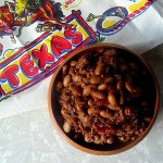 BBQ Baked Beans with Brisket and Shiner Beer