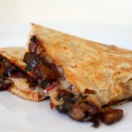 BBQ Portobello Quesadillas
