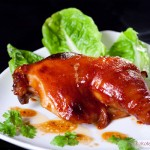Oven-Baked Duck Leg in BBQ Sauce