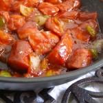 BBQ Glazed Sausage