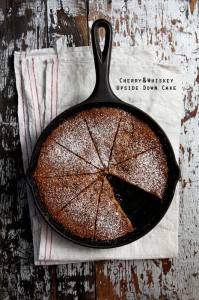 Cherry and Whiskey Upside Cake _Endless Simmer