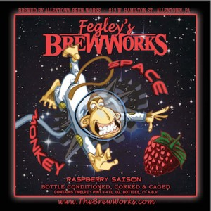 Product - Fegley's Brew Works Space Monkey Raspberry Saison