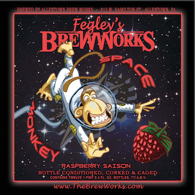 Product – Fegley's Brew Works Space Monkey Raspberry Saison