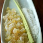 Ginger, lemongrass, coconut