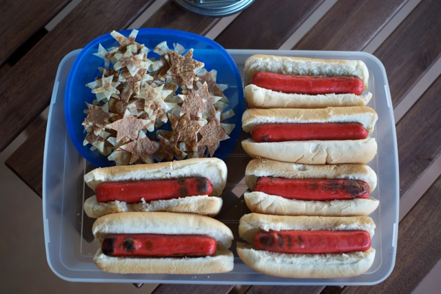 top 10 american flags made out of food