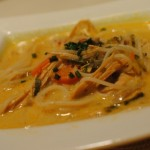 Turkey Coconut Curry Soup