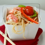 Spicy Coconut Peanut Prawn Noodles