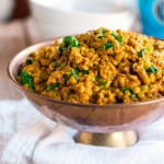 Coconut Green Curry Lentils