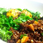 Spicy Coconut Kale Quinoa