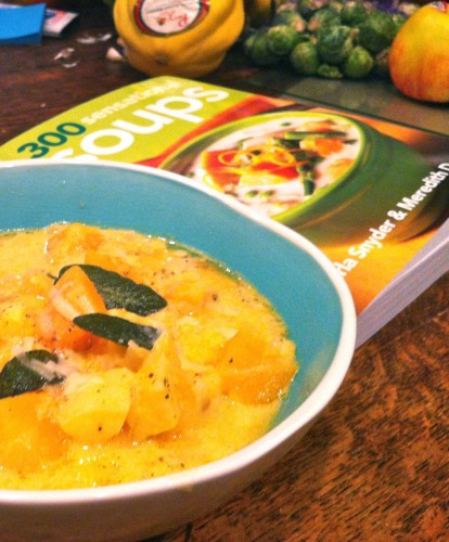 Sensational Soups: Roasted Butternut Squash Chowder with Sage Butter