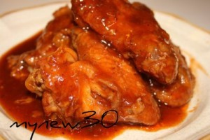 BBQ chicken wings 022b