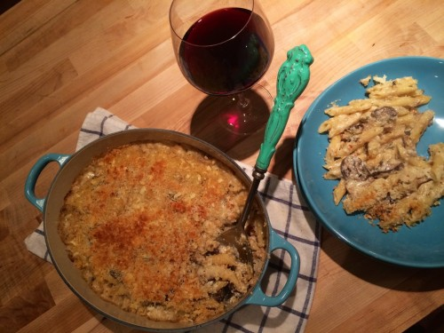 White Winter Truffle Mac and Cheese