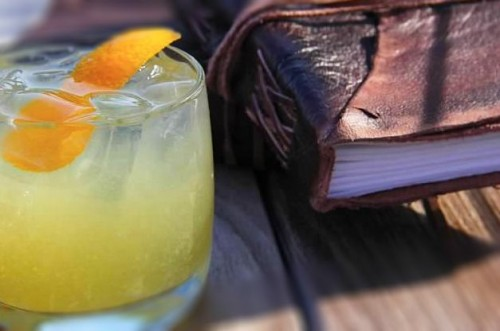library cocktail