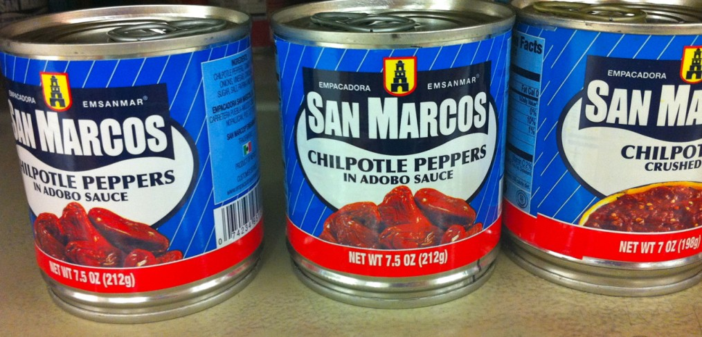 """Chilpotle"" Canned Peppers"