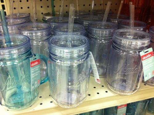 Plastic Mason Jars 2