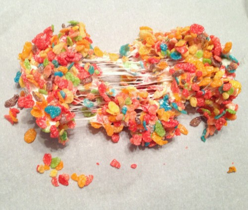 Fruity Pebbles Marshmallow Treats