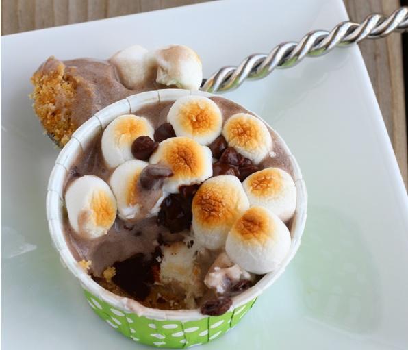 Arctic Zero Ice Cream Smores Cup