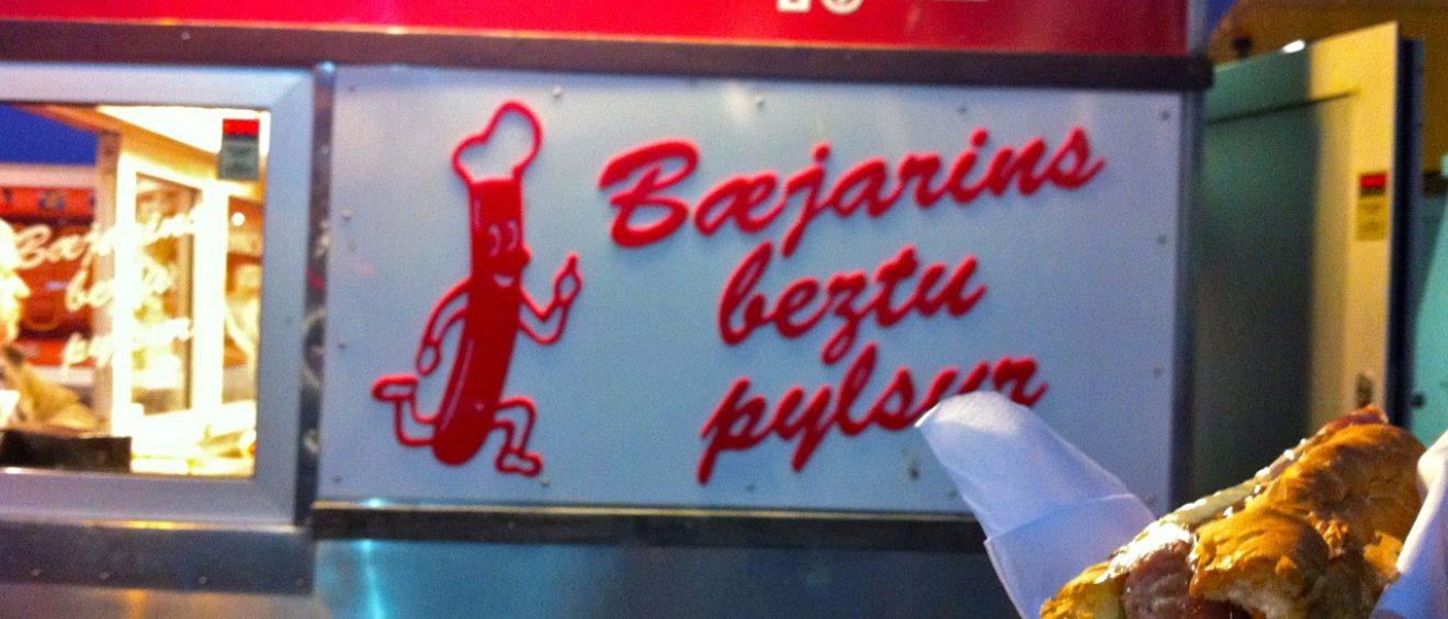 Icelandic Hot Dogs
