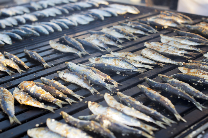 how to cook sardines portuguese style