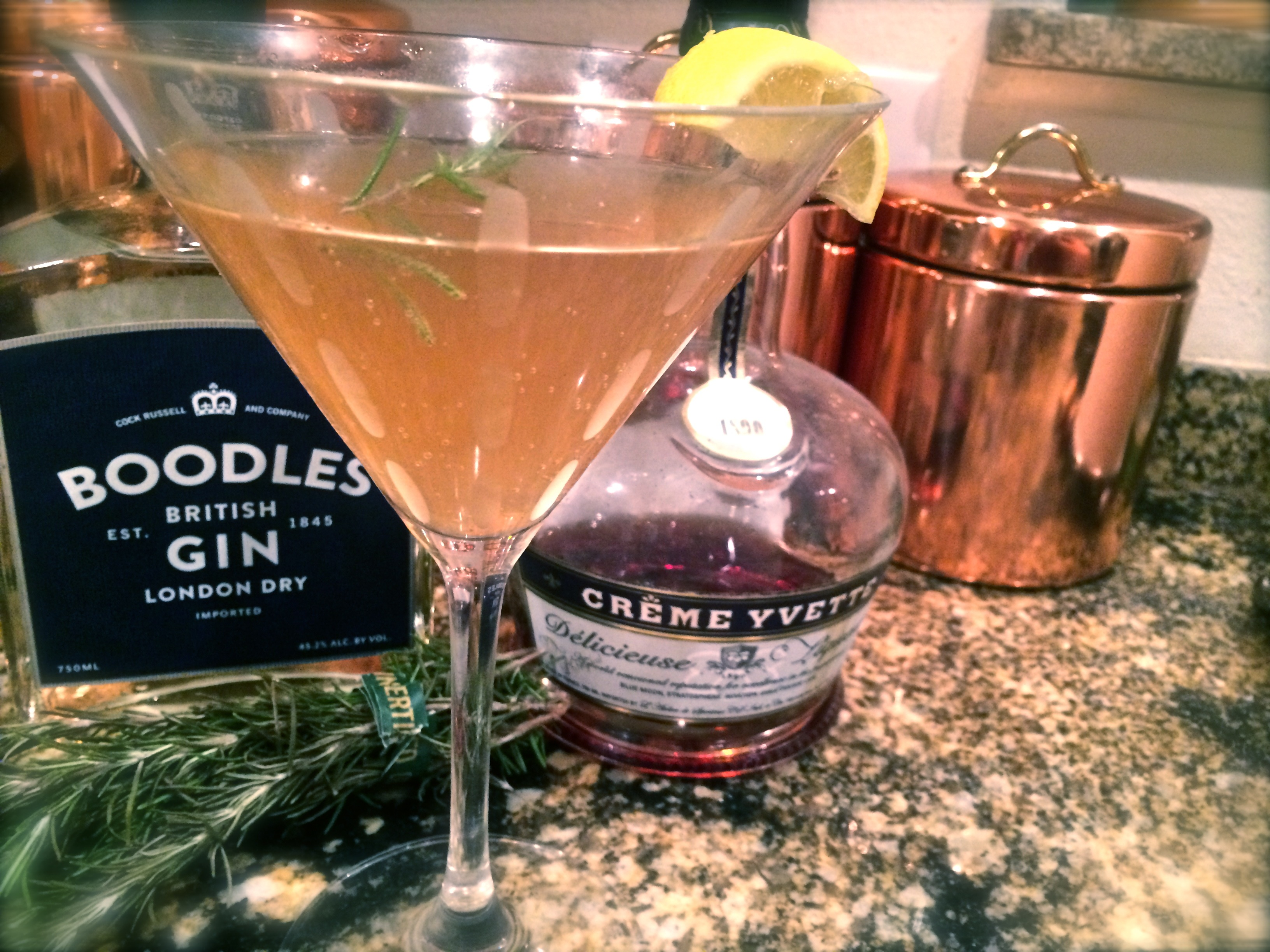 Boodles Gin Cocktail