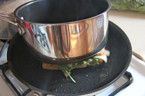 pot in action