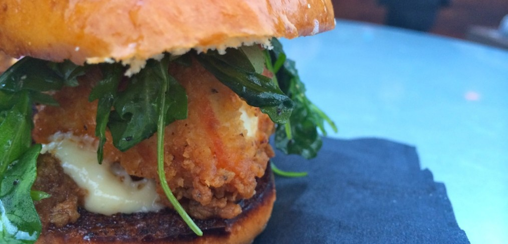 Rio Rooftop Fried Chicken Slider
