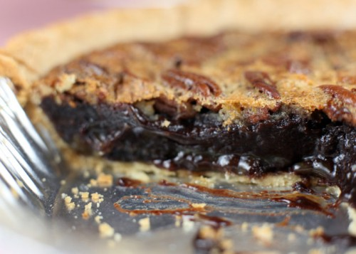 brownie pecan pie
