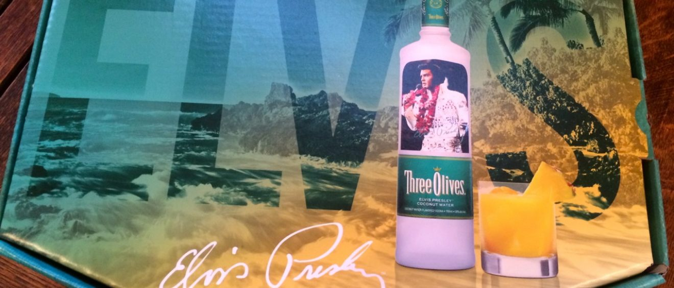 Coconut Water Vodka Elvis Edition