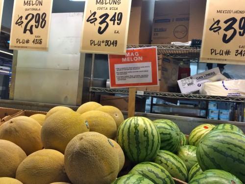 Mag Melon Sign