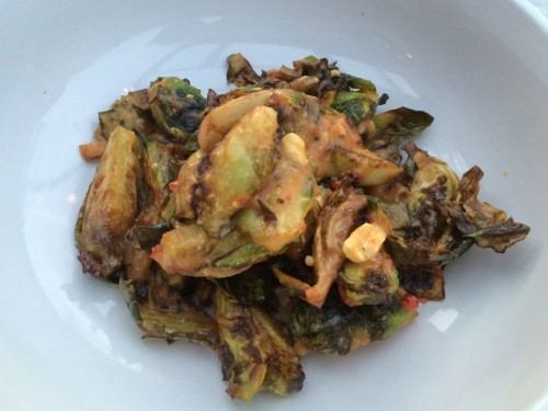 Peanut Butter Brussels Sprouts 2