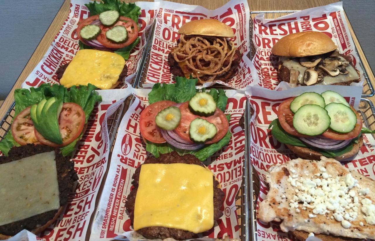 Smashburger Sampler Austin