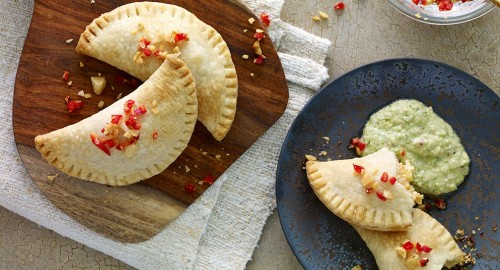 Shrimp-and-Queso-Fresco-Empanadas-with-Charred-Tomatillo-Sauce_Recipes_1007x545