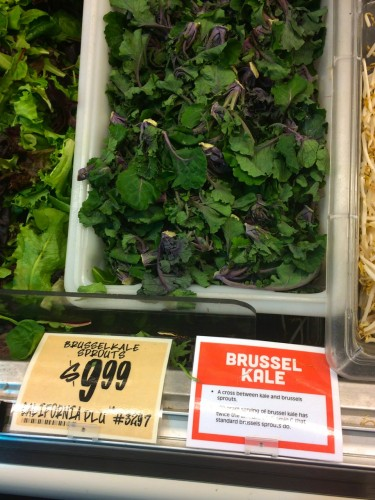 Brussel Kale Sprouts