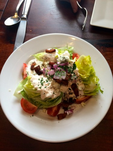 Marfa Cochineal Wedge Salad