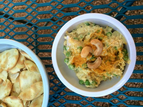 Curried Cashew Chicken Dip
