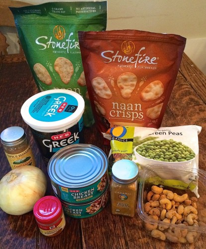 Curried Cashew Chicken Dip Ingredients