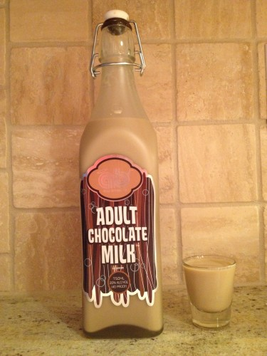 Adult chocolate milk to drinc