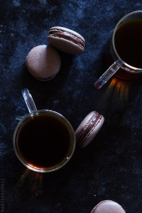 Coffee-Macarons-with-Bakers-Royale