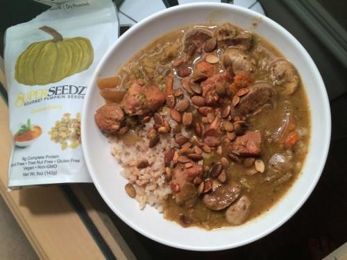Green Curry Crockpot Chicken