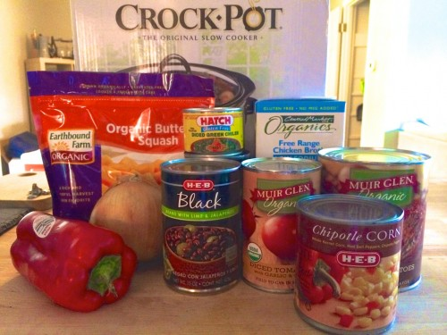 Hatch Chicken Chili Ingredients