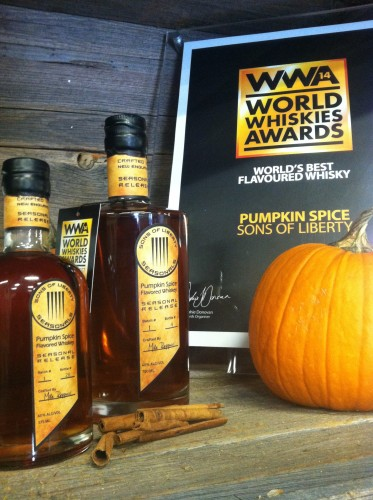Pumpkins with award