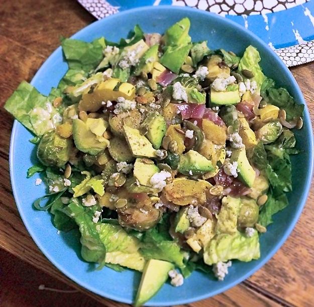 Roast Autumn Vegetable Salad 2