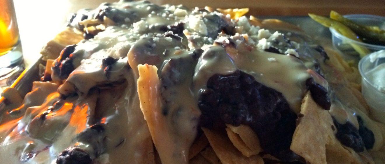 Pile of Nachos Lavaca St Grill